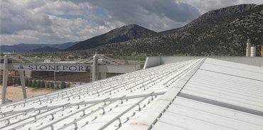 Türkiye'nin en büyük çatı üstü güneş santrali