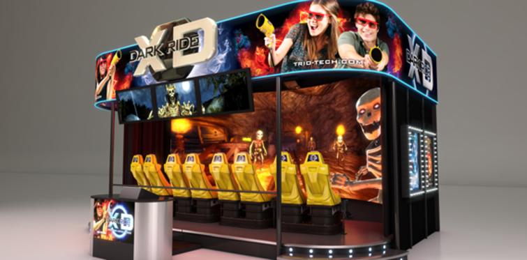 Fun Lab, Dark Ride ile 7 boyut heyecanı