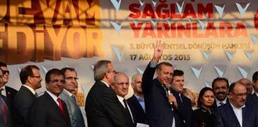 Kentsel dönüşümün yıkım hareketi Bursa'da gerçekleşti