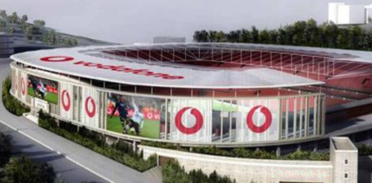 """Beşiktaş """"Vodafone Arena""""da anlaştı"""