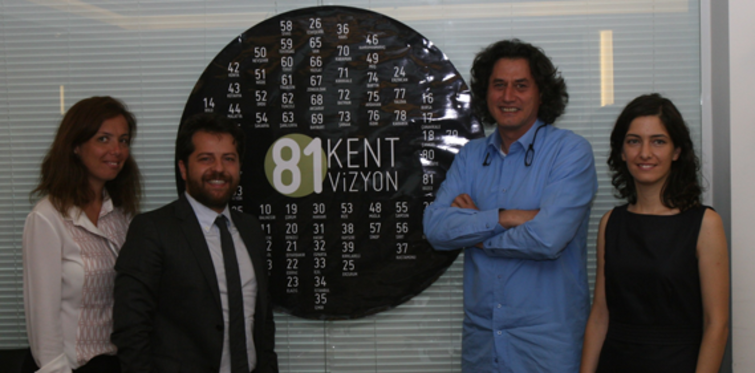Kentsel Vizyon Platformu ile 81 Kent, 81 Vizyon