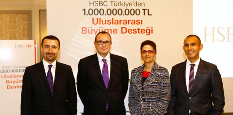HSBC Türkiye, 1 milyar TL'nin üzerinde kaynak sağladı