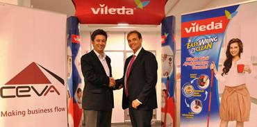 Vileda, Ceva ile  2015 yılına kadar devam dedi