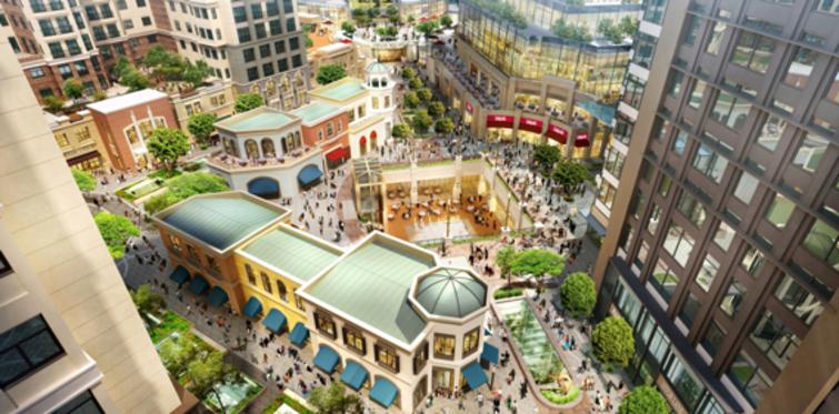 Emaar Square'de gezdiğin eve hayatını yerleştir