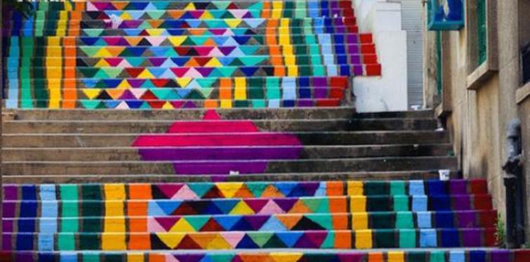 Dünya'dan Renkli Merdivenler ve Şehirler