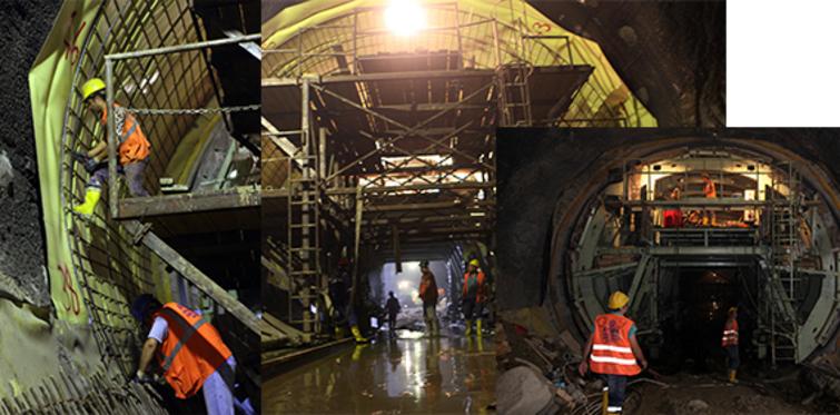 Üsküdar-Sancaktepe Metrosu'nda peronlar ortaya çıkıyor