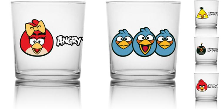 """""""Angry Birds"""" , Gürallar Artcraft ile sofranızı süsleyecek"""