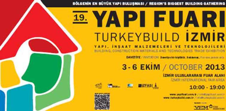 19. Yapı Fuarı – TurkeyBuild İzmir 2013