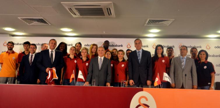 Galatasaray basketbolunun isim sponsoru Odeabank oldu