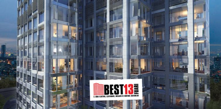 """""""Türkiye'nin tek bina sistemleri fuarı BEST13"""" açılıyor"""