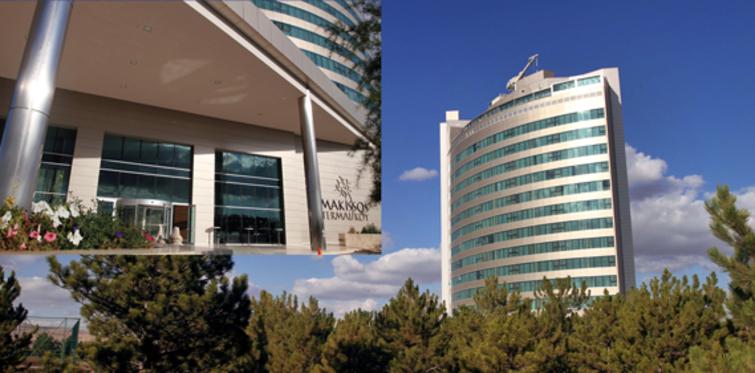 Stres alan termal; Makissos Thermal&Spa Hotel