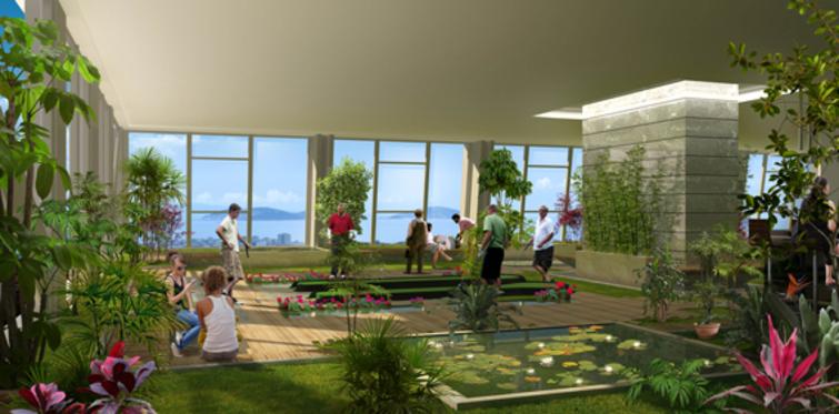 Dap Yapı, satış ofisini 20. kattaki golf pistine taşıdı