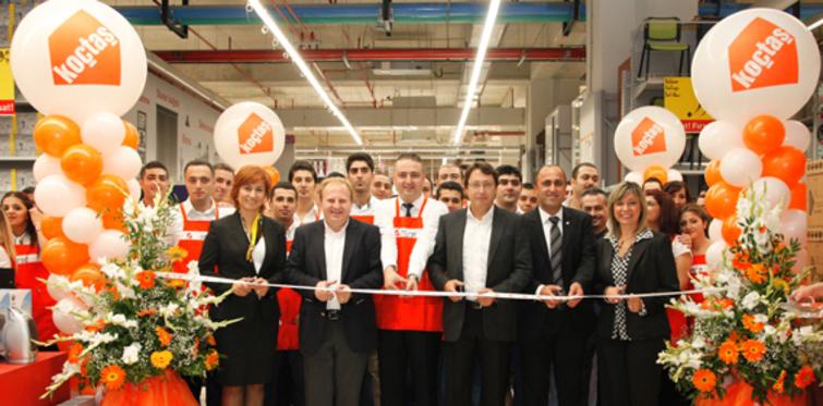 Koçtaş, 40'ıncı mağazası Gaziantep Forum'da açtı