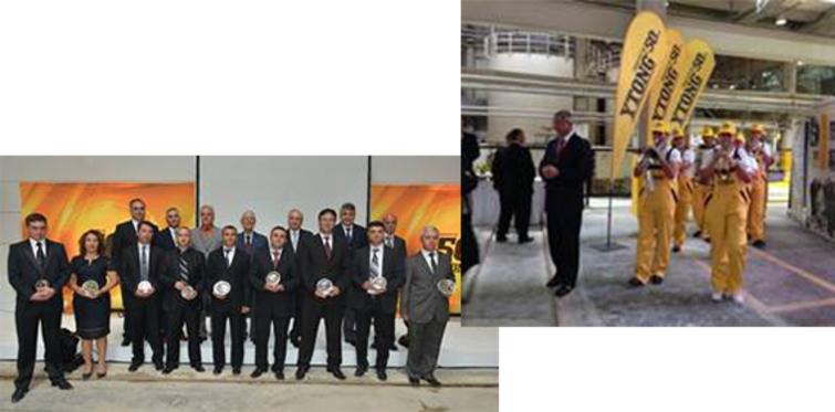 Türk Ytong fabrika günleri devam ediyor