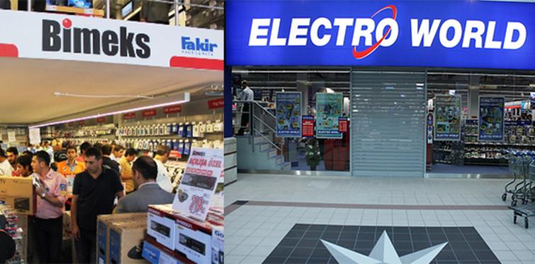 Bimeks, Electro World şirketinin hisselerini devraldı