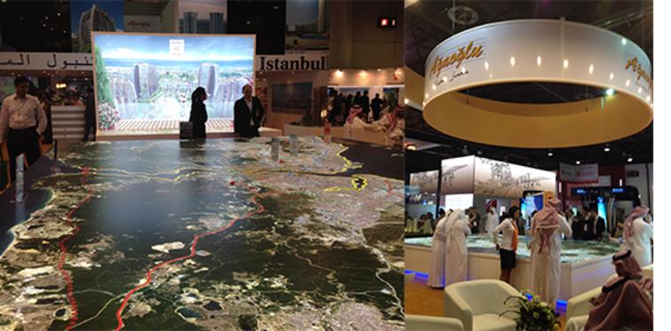 Dubai Fuar'ında Ağaoğlu projelerine yoğun ilgi