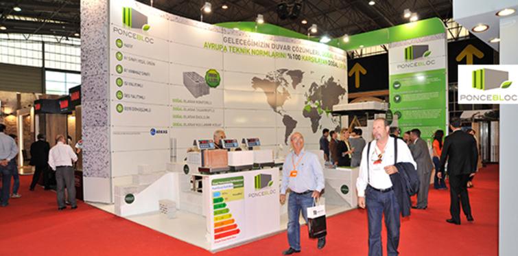 PonceBloc, Türk inşaat sektörüne giriş yaptı
