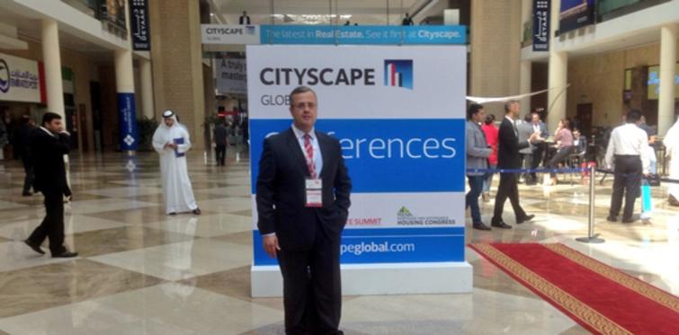 """RESICON, """"Cityscape Global Fuarı""""na katıldı"""