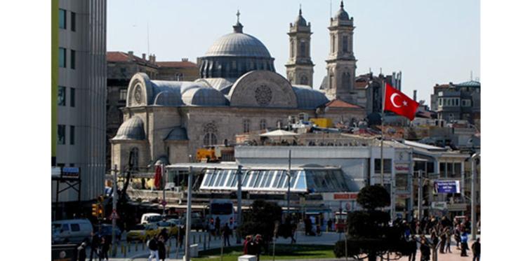 Taksim'de Aya Triada Kilisesi projesi yolda