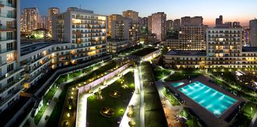 Tatil köyü konseptiyle; İstanbul Lounge projeleri
