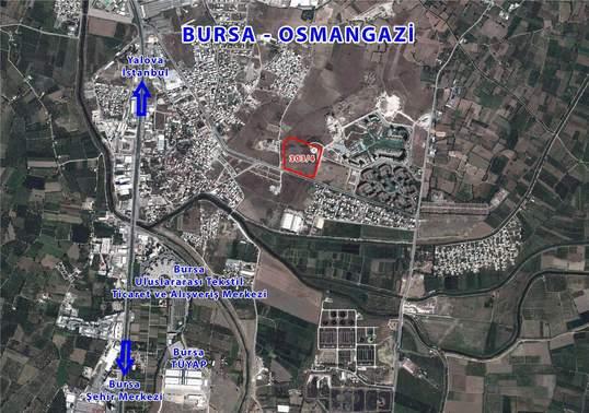 Emlak Konut Bursa'daki arazisini ihaleye çıkarıyor