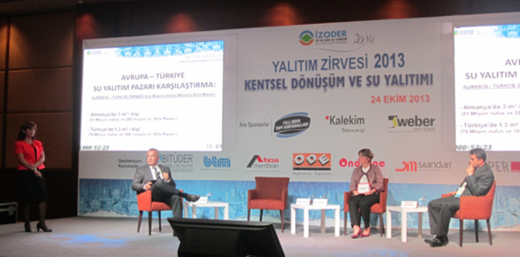 Su Yalıtım Zirvesi 2013 gerçekleştirildi