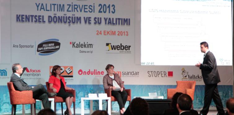 """""""Yalıtım Zirvesi 2013""""nin ana sponsoru; Kalekim"""