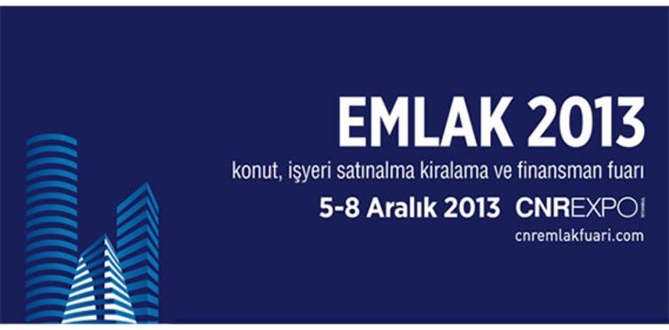 Emlak 2013 Fuarı sektörü bir araya getirecek