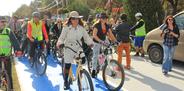 Filli Boya Kadıköy bisiklet yolunu renklendirdi