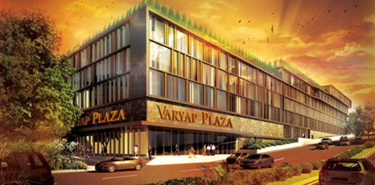 Varyap Plaza Pendik'te ofisler teslime hazırlanıyor