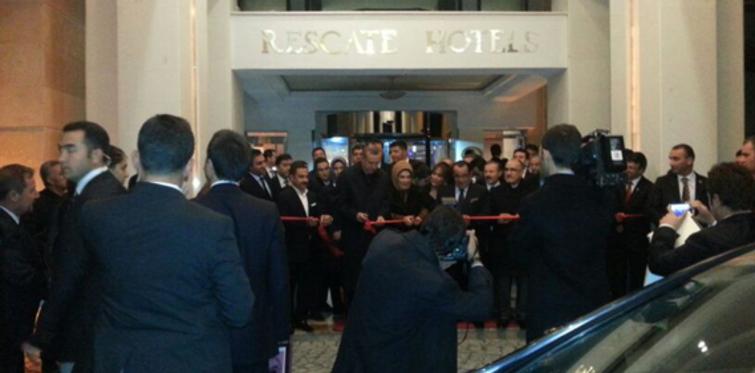 Başbakan, Van'da Rescate Otel'in açılışını yaptı