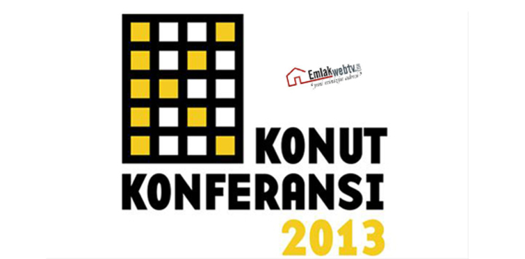 Emlakwebtv, Konut Konferansı 2013'ün iletişim sponsoru