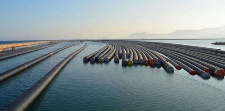 Kıbrıs'a su taşıyacak borular hazır