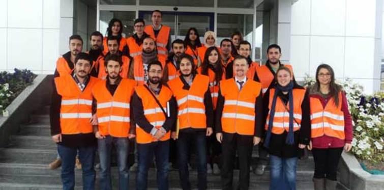 Öğrenciler, DemirDöküm fabrikasını ziyaret etti