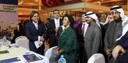 Sarp Group tanıtım standı Kuveyt'te ilgi odağı oldu
