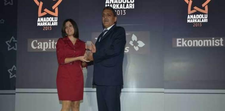 Anadolu Markaları 2013 'den Beta Gıda' ya ödül