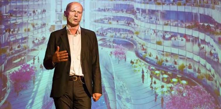 Eko-mimar Michael Pawlyn İstanbul'a geliyor