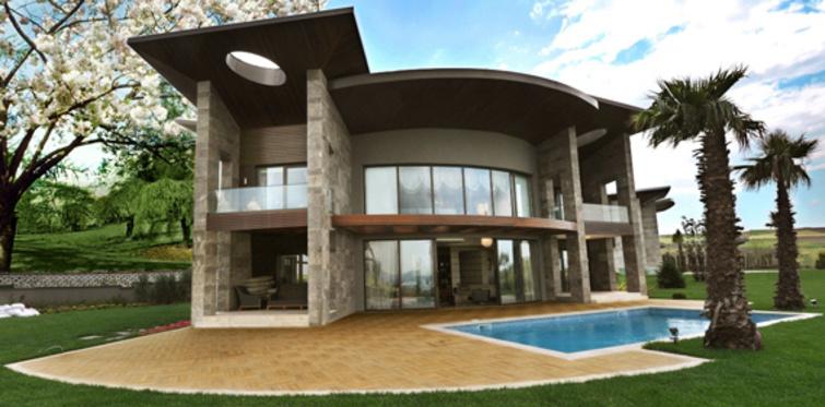 Gölmahal'in 2.etabında teslime hazır son 5 villa
