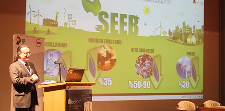 Yeşil bina sertifikasyon sistemi ''seeb-tr'' tanıtıldı