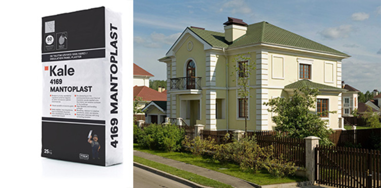 'Mantotech' ve 'Mantoplast' ile binalarda çifte koruma