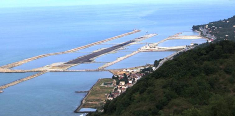 Ordu-Giresun Hava Limanı'nda pist çalışmaları tamamlandı