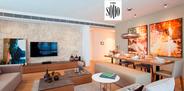 Soyak Soho örnek daire özel olarak tasarlandı