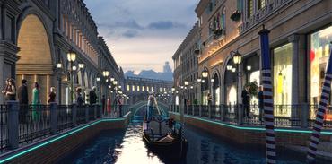 İtalya esintili Venedik sarayları gürücüye çıktı