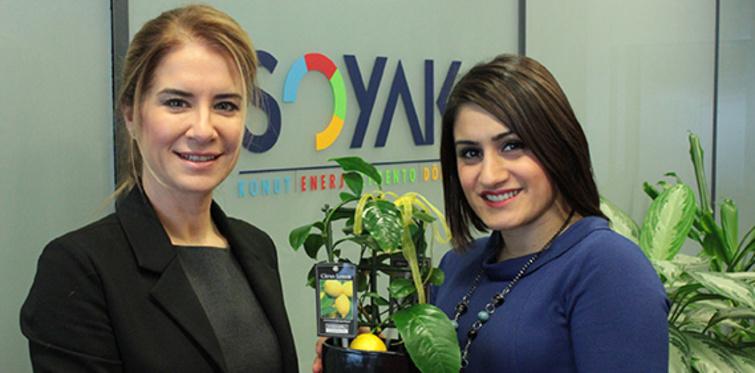 Soyak çalışanlarının karbon ayak izleri sıfırlanıyor