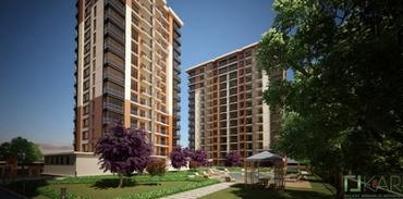 Kentsel dönüşüm projesi olarak Feza Park Evleri Güneşli'de