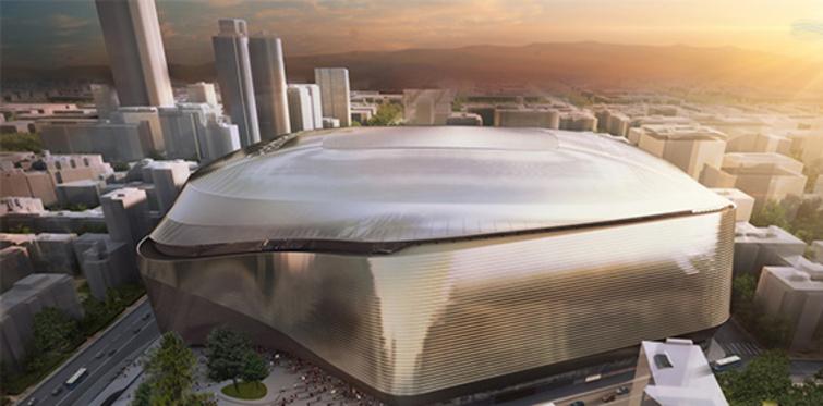 Real Madrid'in stadı yenileniyor