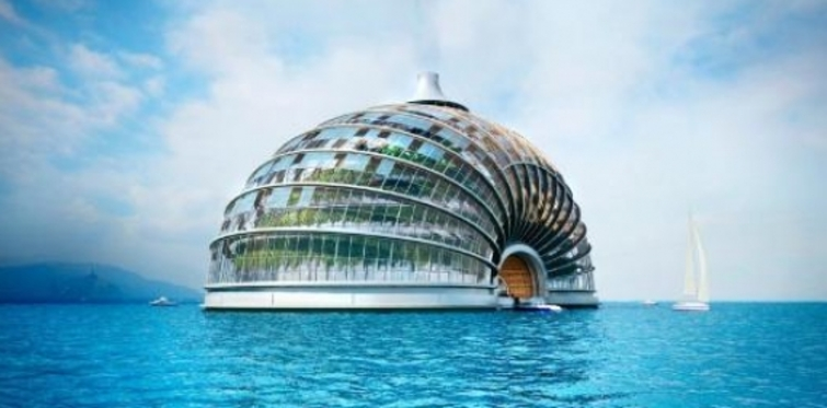 Rus mimar Aleksander Remizov'dan İlginç tasarım