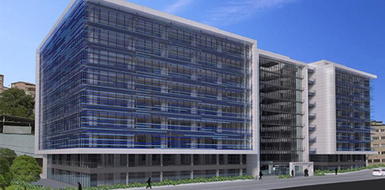Akplaza'dan ofis tavan yüksekliği farkı