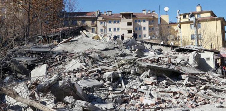 Ankara Altındağ'da göçük meydana geldi