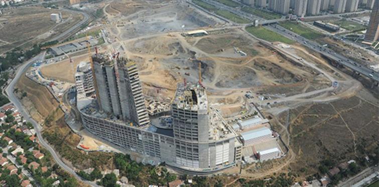 Finans Merkezi projesi Ataşehir'de fiyatları uçurdu
